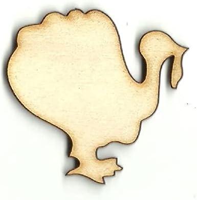 No Hole Turkey - 1 year warranty High order Laser Cut Shape Wood Unfinished Out Suppl Craft