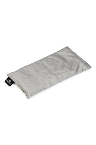 Yoga Studio, cuscino per occhi con semi di lino e lavanda organica francese, Silver