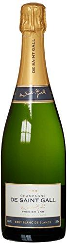 De Saint Gall Champagner de Blanc Cru Brut (1 x 0.75 l)