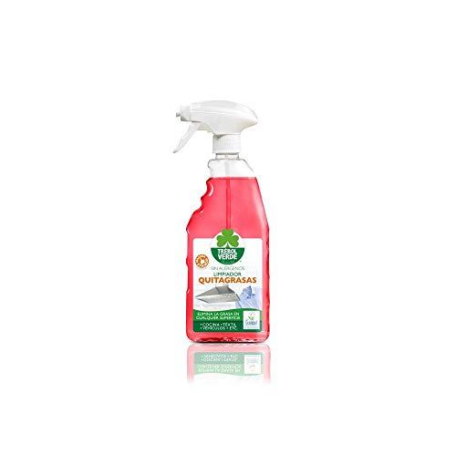 Limpiador quitagrasas ECO Trébol Verde 750 ml