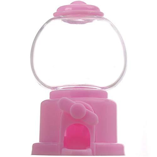 TOSSPER Burbuja Linda Dulces de Caramelo Mini máquina de Gumball dispensador de Monedas del Banco de Juguetes de los niños de Ahorro de Dinero de la Caja Juguetes del Regalo