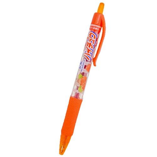 ハイチュウ ストロベリー[カラーペン]カラーボールペン/レッド おやつマーケット