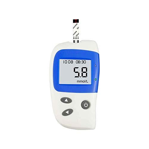 WCCCY Medidor de glucosa en la Sangre Kit de Prueba de glucosa en Sangre Diabetes Monitoreo del medidor de Sangre