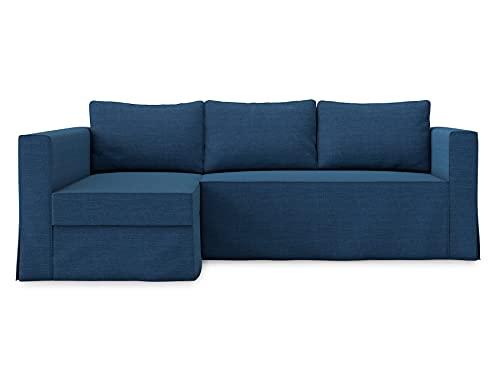 TLYESD - Funda de poliéster para sofá de 3 plazas y sofá seccional