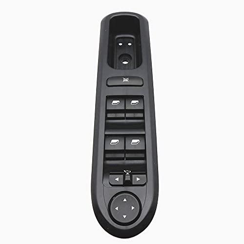 Panel de interruptor eléctrico de elevalunas delantero izquierdo para Peugeot 407 SW 6554.ER 96468704XT 6554ER 2004-2010