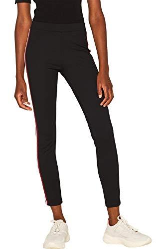 ESPRIT Damen 099EE1B011 Leggings, Schwarz (Black 001), W(Herstellergröße: S)