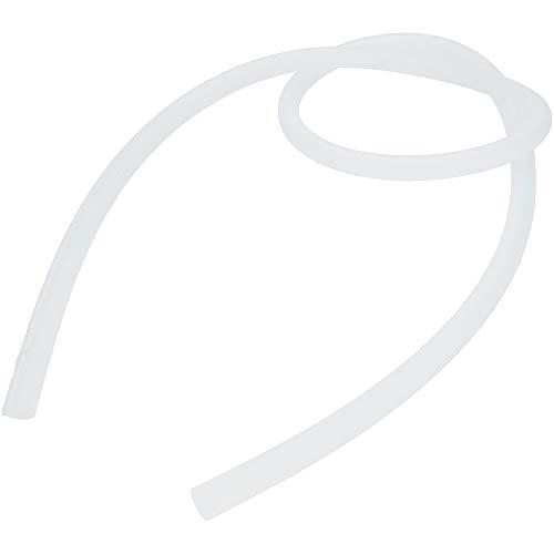 AO Hookah Shisha Schlauch Silikon Soft-Touch Matte Oberfläche | Silikonschlauch für Wasserpfeife | 1,50m (Transparent)