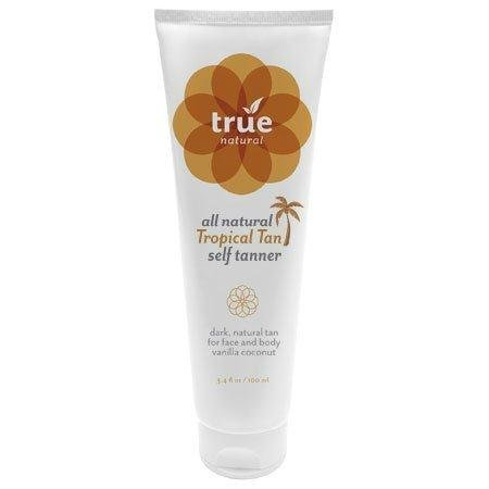 True Natural Tropical Self Tanner, Dark, 4 Ounce by True Natural