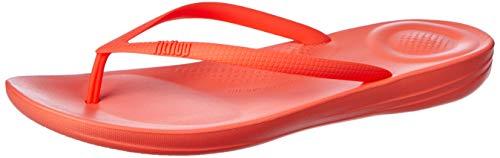 Fit Flop Women's FitFlop Iqushion Super Ergonomic Flip Flops Sunshine UK 3 Pink
