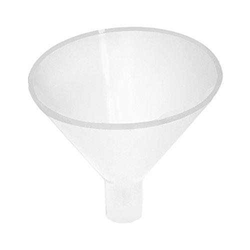 (2個セット)超速落下タイプの粉末液体用のロート (漏斗じょうご、滞留しない、急傾斜で幅広な形状)