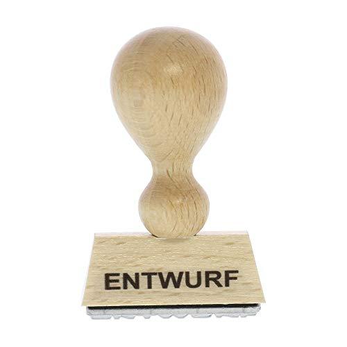 Holzstempel ENTWURF (40x10 mm - 1 Zeile)