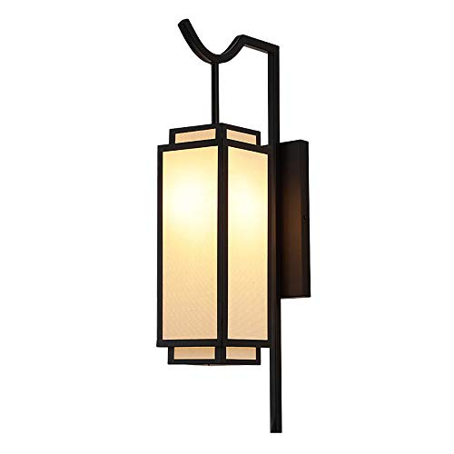 M/P Indoor Wall Light Exterior Modern Wall Lamp Living Room LED Wall Lighting Sconce Black Fixtures Wall Mount Lamp for Indoor Outdoor Stairs bathroom bedroom corridor, 7W White