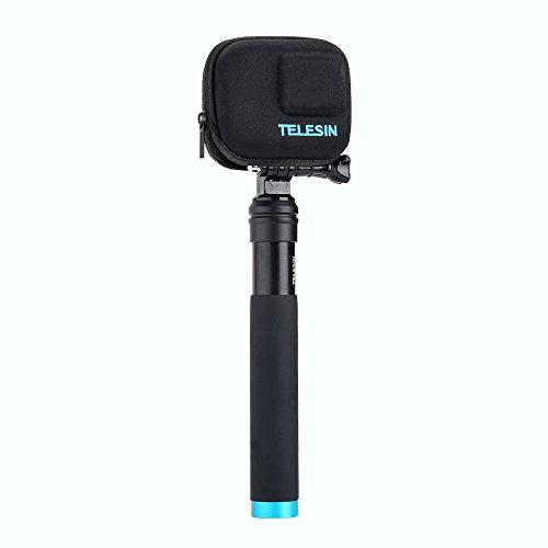 TELESIN Tragbare Mini-Kameratasche, Kamera-Schutzrahmen, halbstarr, Tragetasche, Tasche für GoPro Hero8 Black Hero 5 Hero 6 Hero 7, Hero 2018 Kamera-Zubehör