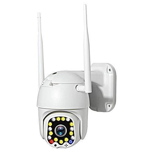 safc Kamera PTZ Dome 1080P WiFi Wireless im Freien, mit 50 m Nachtsicht und 4-fachem optischen Zoom Zwei-Wege-Audio automatische Tracking-Sicherheitsüberwachung-1080P_with_16G_TF_Card