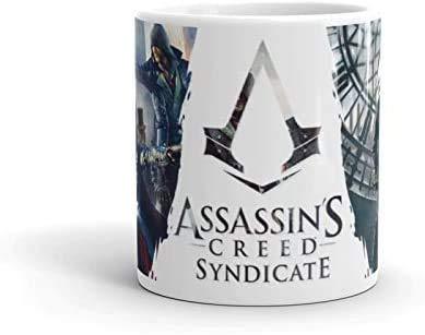 Dufeng Assassins Creed Becher AC Syndicate Abdeckung Logo-Becher-Schale Geschenk-Neuheit-Geschenk-Idee