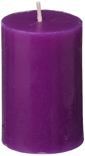 2 x 3 Purple Pillar Candle