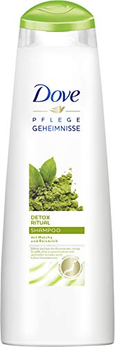 Dove Detox Ritual Shampoo, mit Matcha und Reismilch, 6er Pack (6 x 250 ml)