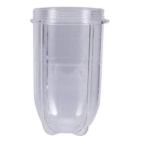 SODIAL 1 Pieza de 8 Cm X 14,8 Cm, Licuadora, Taza, Taza, Piezas de Repuesto Transparentes con Oreja para 250W Magic