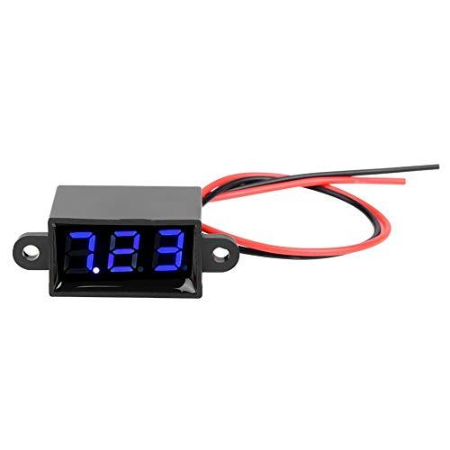 Pasaje 0,28 Pulgadas Sellado 3,0-30 V CC medidor de voltímetro Digital de...