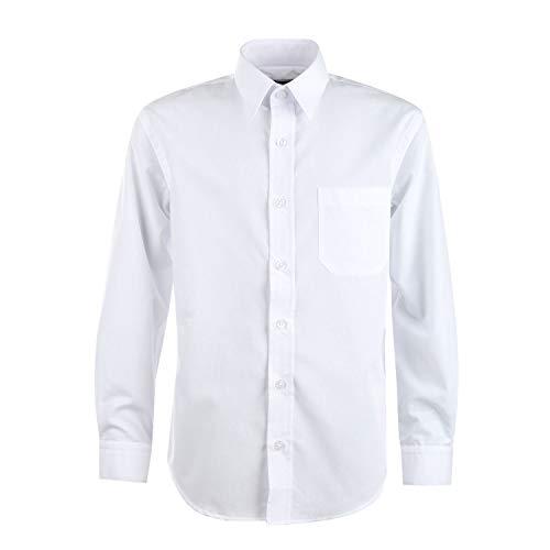 G.O.L. - Jungen Festliches Hemd Langarm, Weiss - 5511900, Größe 140