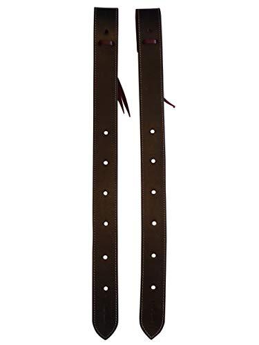 Thor Equine Western Flank - Juego de 2 fundas de piel para billar