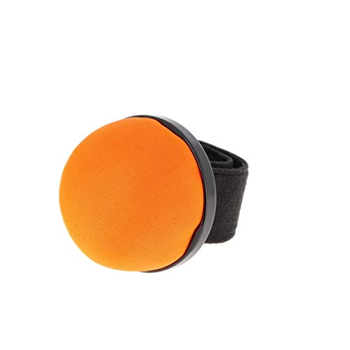 Bohin 98886 Pin Cushion Flexible Snap Pulsera Naranja Neón Pinpads 5