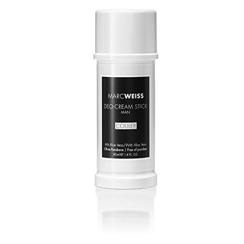 Marc Weiss Hypoallergenic Luxury Deodorant, Antiperspirant for Men (Couler, 1.4 Ounces)