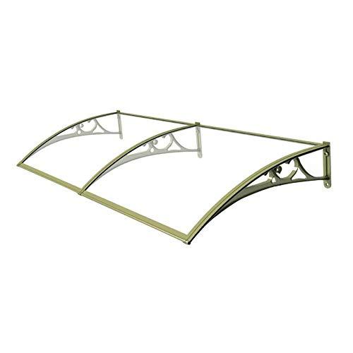 Haustürvordach Türvordach Haustürdach Pultvordach Überdachung Vordach Sonnenschutz Regenschutz Vordach (Size : 60cmx240cm)