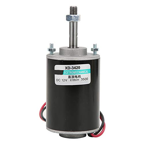 Mini 12 V/24 V CW/CCW Dauermagnet DC Motor Reversible Elektrische Getriebemotor Hochgeschwindigkeit Niederige Lärm Für DIY Generator(3500 U/min (12 V))
