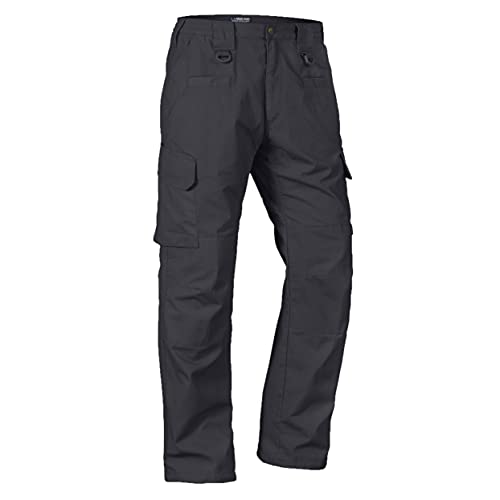 LA Police Gear Men's Water Resistant Operator Tactical Pant with Elastic Waistband
