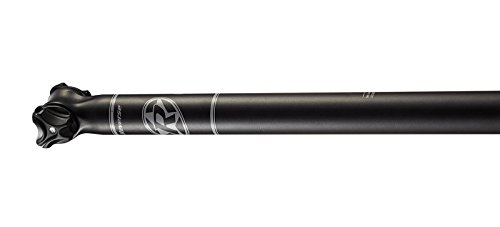 Reverse E-Force Sattelstütze schwarz/weiß: Größe: 30.9mm/350mm