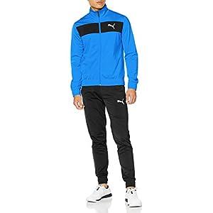 [プーマ] オールインワン Techstripe Tricot Suit cl メンズ パレス ブルー (41) 日本 L (日本サイズL相当)
