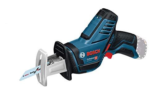 Bosch Professional Scie-sabre GSA 12 V-14 Batteries ZB (12V, profondeur de coupe: 65mm, sans batterie, sans chargeur, 2 lames de scie)