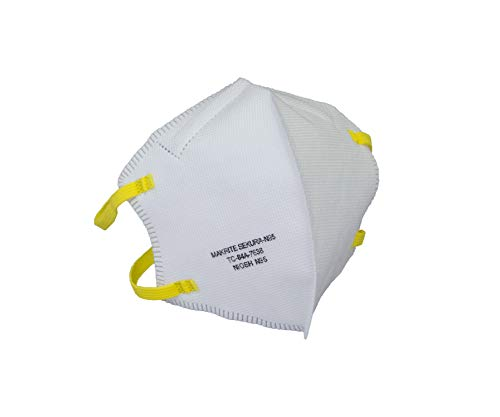 N95 折り畳み式マスク 1箱40枚入 使い捨て 米国 NIOSH認定 N95合格品