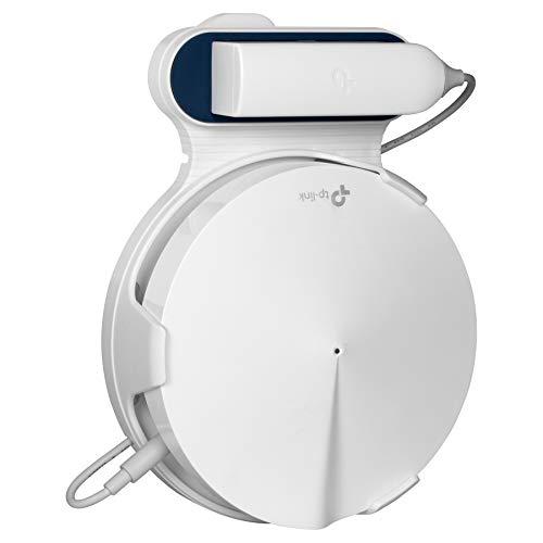 STANSTAR Soporte de Pared para TP-Link Deco M9 Plus Home Mesh Wi-Fi, Soportes Resistentes, fácil de Mover, sin Cables y Tornillos desordenados 1 Pack