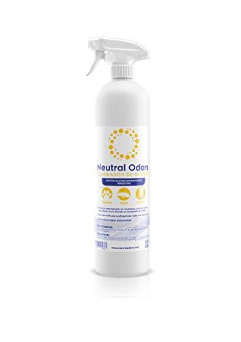 NEUTRAL ODORS - Eliminador de Olores de Mascotas (suelos, alfombras, cajas de arena, etc.) - 750ml