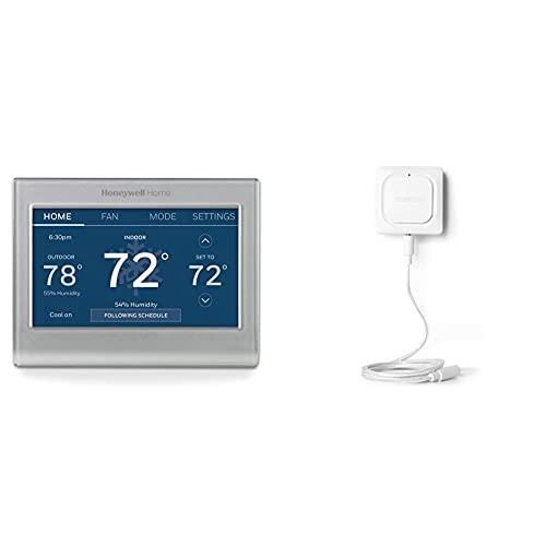 Honeywell Home WiFi Thermostat + WiFi Water Leak Detector