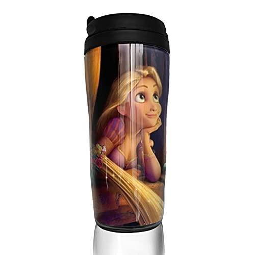 Rapunzel - Taza de café reutilizable con aislamiento para bebidas calientes y frías, té y cerveza