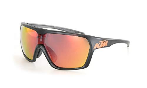 KTM Sonnenbrille Character Polarized Mirror C3, Bitte Farbe auswahlen (Schwarz/orange Logo)