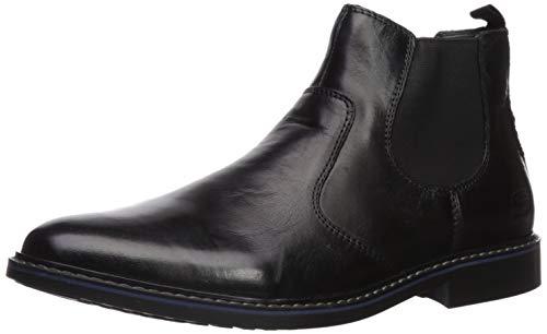 Skechers Men s Bregman-MODESO Street Dress Collection Chelsea Boot, Black, 12 Medium US