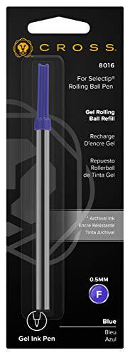 Cross 8016 Selectip - Bolígrafo de tinta gel (0,5 mm), color azul