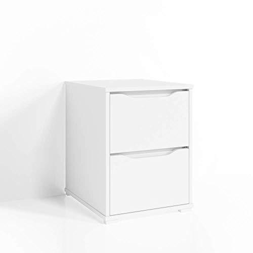 Vicco Kommode Set Ruben Schubladen Sideboard Mehrzweckschrank Schrank (Klein, Weiß)