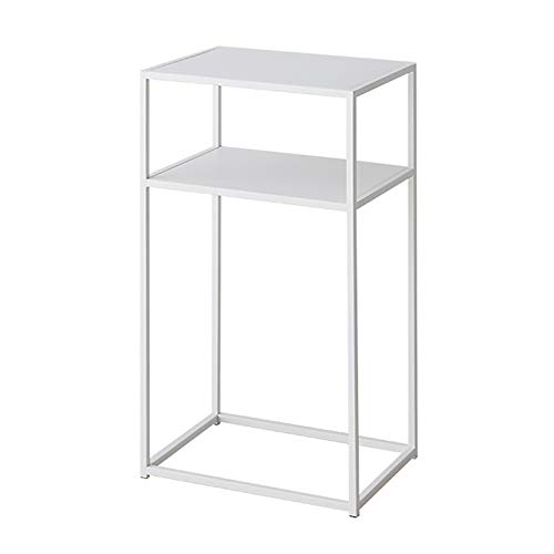 Coffee Table, Metal Nightstand, Sofa Side Snack Table, Bedside End Table Home Storage Entryway Table for Living Room Bedroom