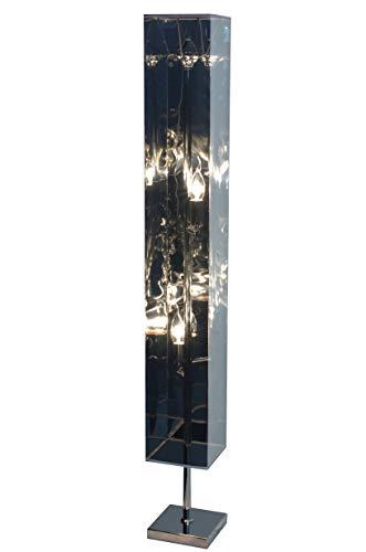 Naeve lampen decoratieve vloerlamp/hoogte: 120 cm, s: 15 cm, chroom 2018042