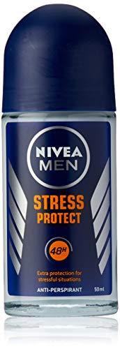 NIVEA MEN Stress Protect Roll On Anti-Perspirant Deodorant, 50ml