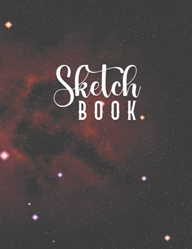 Sketch Book: Sketch Book with Blank Pages / 8.5x11 inches / 110 pages   Notebook for Drawing and Sketchings