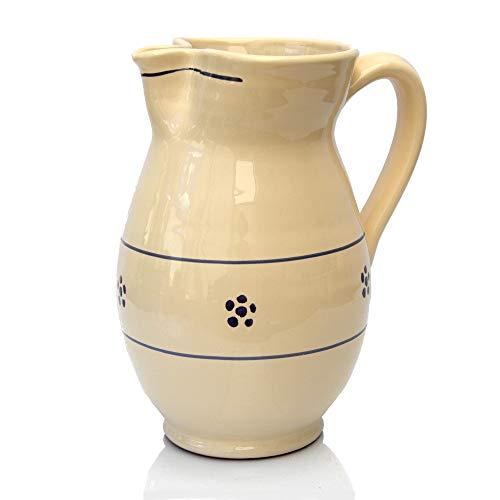 Colì, Brocca Ursulo 18 cm Serie Stelle, Brocca Acqua, Brocca Vino, Brocca e Caraffe da Tavola, Brocca Terracotta