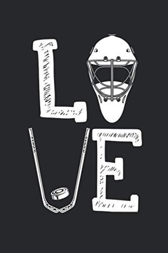 Ice Hockey Love: Termin- & Wochenplaner ohne Datum - Mit To-Do-Listen und Prioritäten Organizer - Terminkalender für Ice Hockey Spieler, ... und Singles - Geeignet für Büro und Freizeit