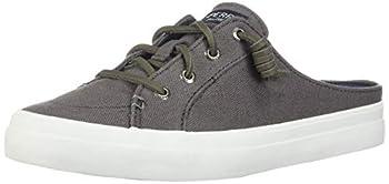 Sperry Women s Crest Vibe Mule Canvas Sneaker Grey 8 M US