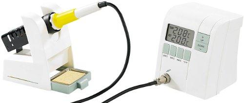 AGT Lötset: Digitale Premium-Lötstation mit elektronischer Temperatur-Steuerung (Lötkolben Sets)